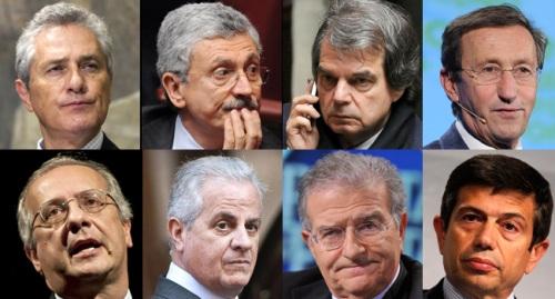 La nuova truffa della casta dei politici italiani per for Tutti i politici italiani